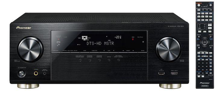 Våren og forsommeren er tiden for nye hjemmekinoreceivere. Pioneer slipper 5 nye modeller med VSX-924 på topp, fulgt av VSX-329, VSX-424, VSX-529 og VSX-824.