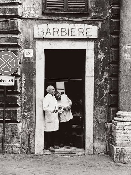 Rome's Oldest Barbershop