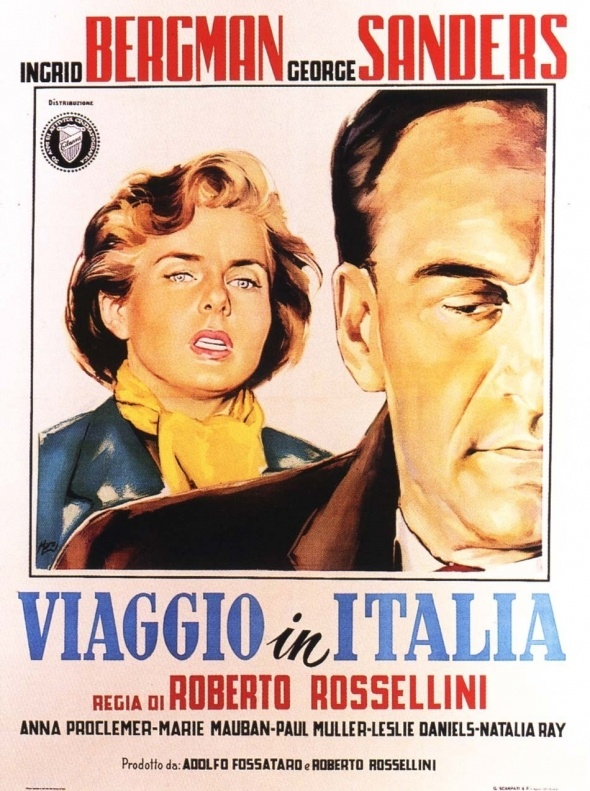 Journey to Italy (Viaggio in Italia, 1953)  Director Roberto Rossellini