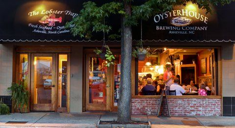 Asheville's Lobster Trap.  A five Star Plus Restaurant!  Wonderful food and service.  -Penny-