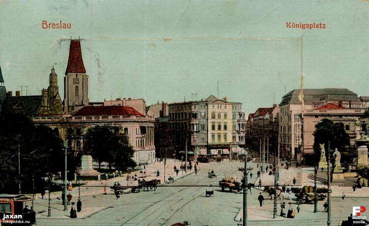 Lata 1900-1910 , Dziś to plac Jana Pawła II.