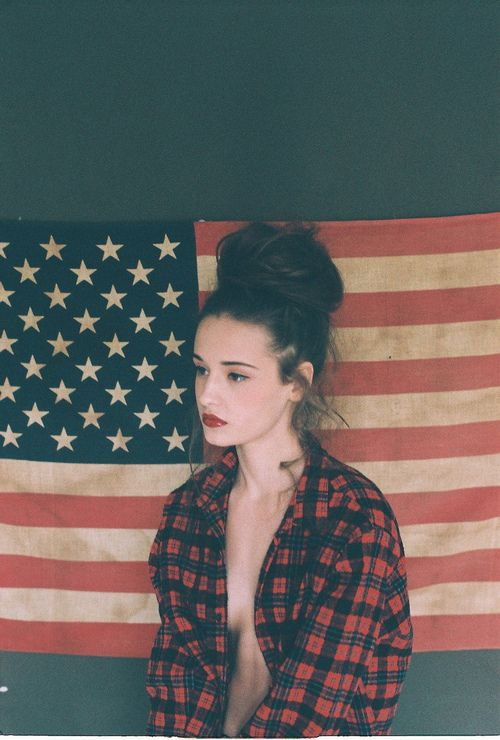 http://the-lovecats.com: Inspirational Hairstyles, Makeup, American, American Flag, Posts, American Girl, Good, Beauty, Women