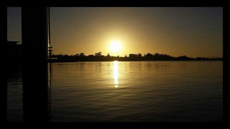 Sunset, Perth, Western Australia @trashcanjibber 2/8/2014