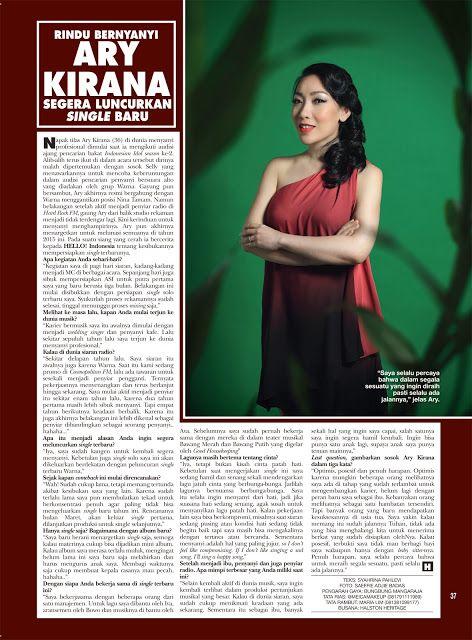 Gravity Around Me: Article on HELLO! Indonesia, Edisi Maret 2015. #writing #journalism