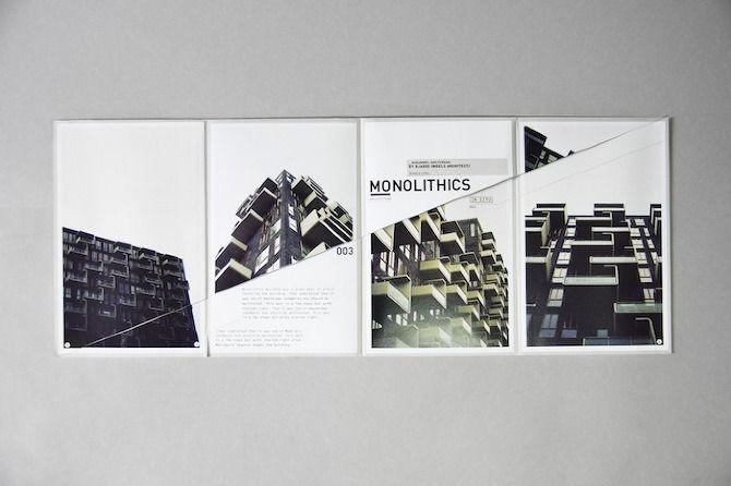 monolithics - folding leaflet