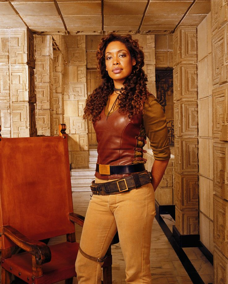Gina Torres as Zoe Washburne on Firefly.