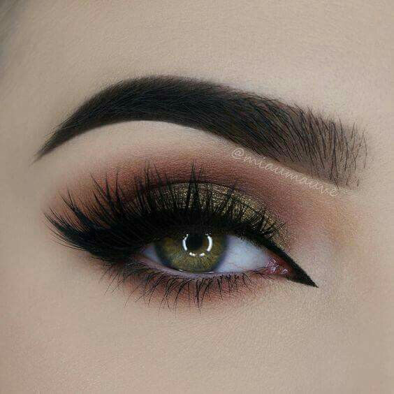 I have to re-create this look asap and see how it'll look on my dark brown eyes.. If not... My green contacts will be put in