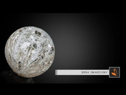 Come fare Sfera Swarovsky di zucchero Isomalto - Davide Malizia - YouTube
