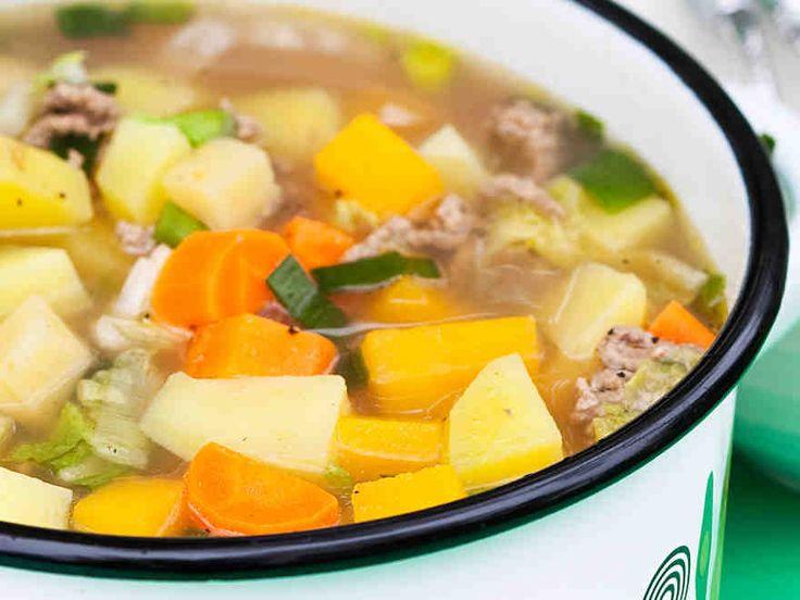 Jauheliha-kasviskeitto - Reseptit