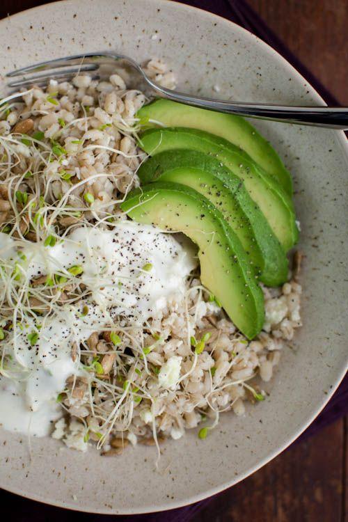 California Barley Bowl (from Whole-Grain Mornings) @Erin B B B B (naturally ella)