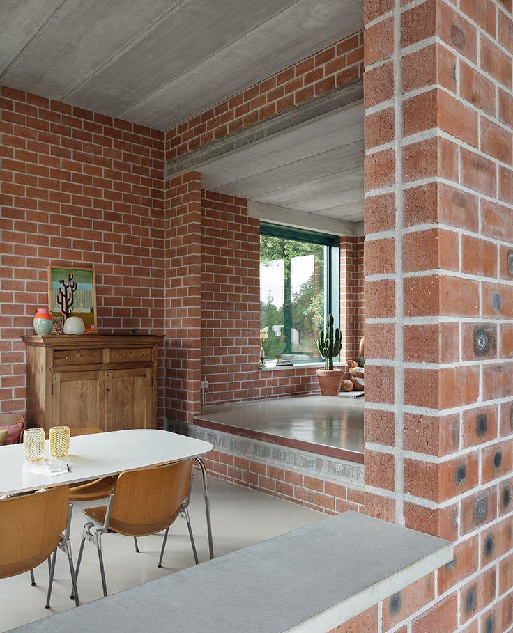 Monadnock finishes brick built atlas house outside eindhoven