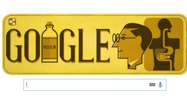 Гугъл почита Фредерик Бантинг | Danybon.com