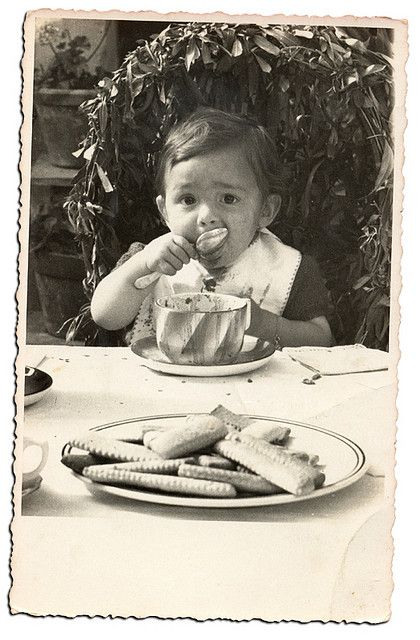 """""""Cioccolata - My father on his first birthday 11th July 1944"""" - Copyright David Zellaby - Flickr"""