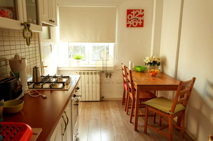 Cozy kitchen in an apartment from Bucharest