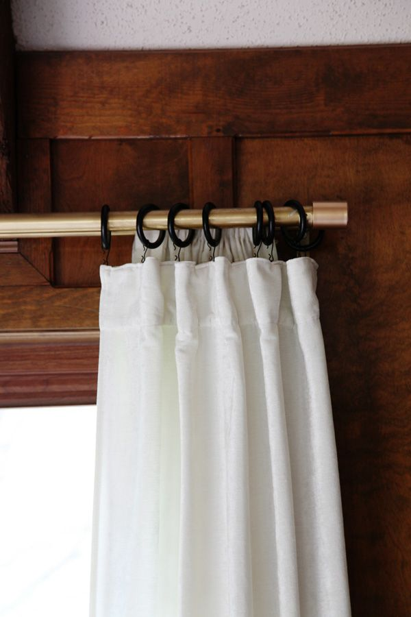 How To Hang Curtains With Hooks Hanging Curtains Curtain Hooks