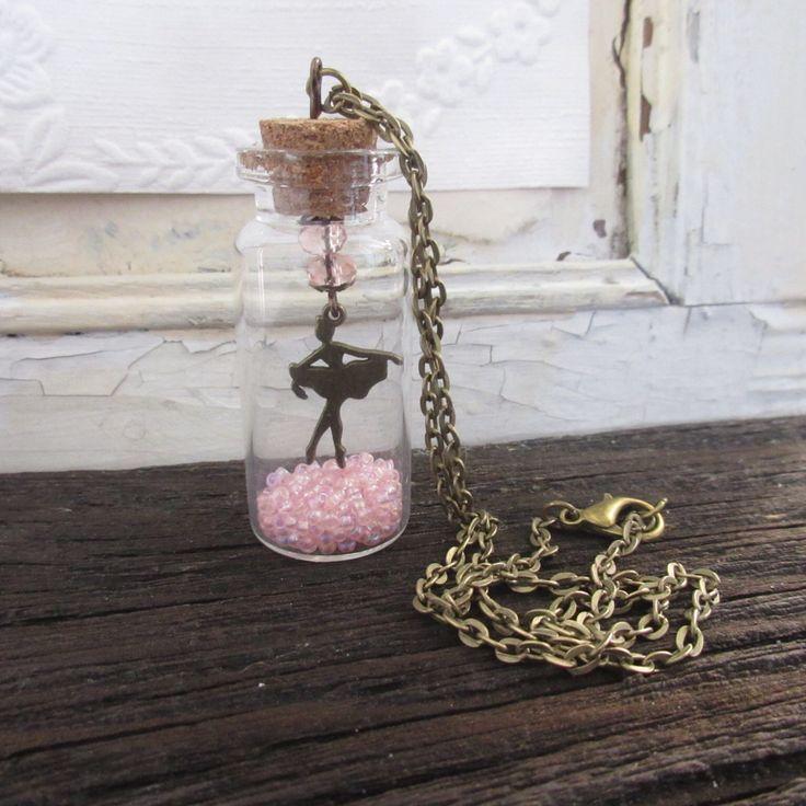 Jewelry Ballerina Necklace Ballet Charm Dance Teen Tween Jewelry Kids and Baby Girls Jewelry Childrens Jewelry Dance Recital Ballet Recital by Rosebudbabydesigns on Etsy