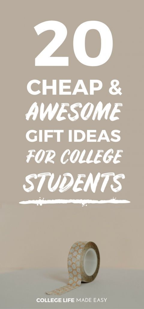 Awesome Practical College Kids Friends Gift Ideas For Christmas Care Packages Birthday Going Away Girls Boys Best Cool Collegelife