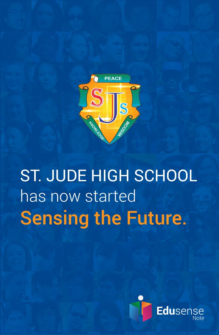 St. Jude High School is experiencing the future with Edusense Note #EdusenseNote