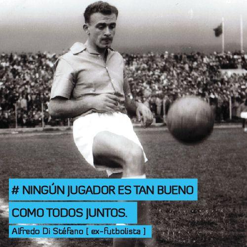 Ningún jugador es tan bueno como todos juntos http://www.altorendimiento.com/cursos/curso-preparacion-fisica-futbol