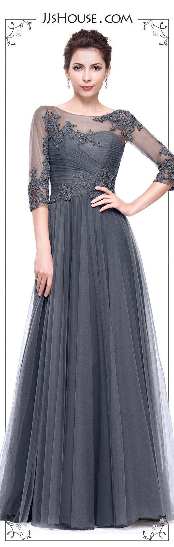 A Very Classic Evening Dress from #JJsHouse