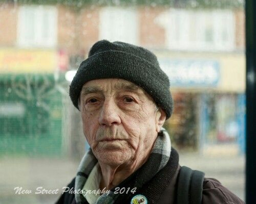 Bus stop portrait...
