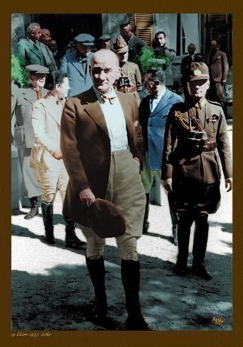 """The governments most creative and significant duty is education"" M.K.Atatürk."