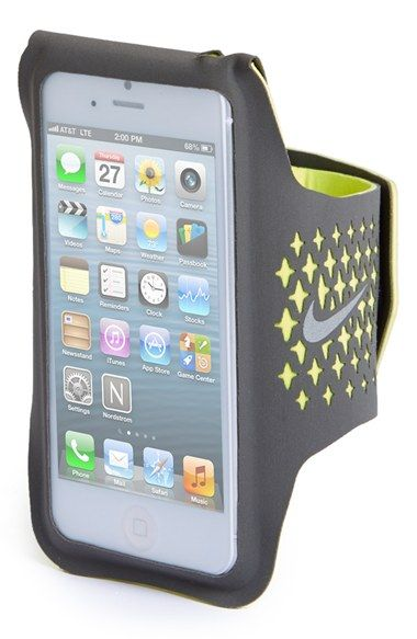 Nike 'Diamond' iPhone 5 Armband | Nordstrom I saw these armbands at Dick's