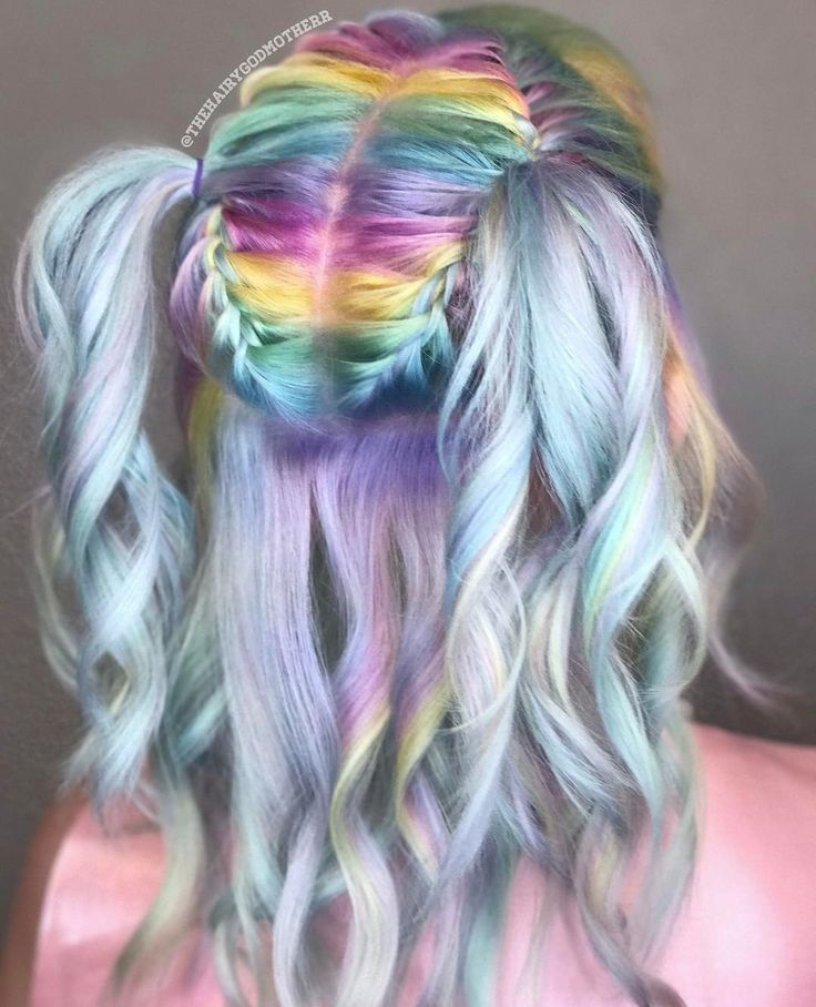 Colorful Hairstyles Awesome 2266 Best Bright Colorful Hairstyles Images On Pinterest