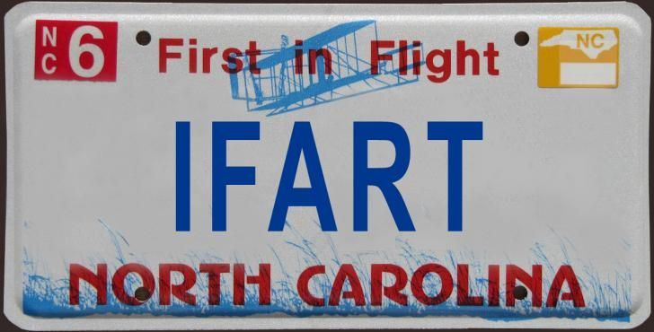 100 rejected NC license plates :: WRAL.com