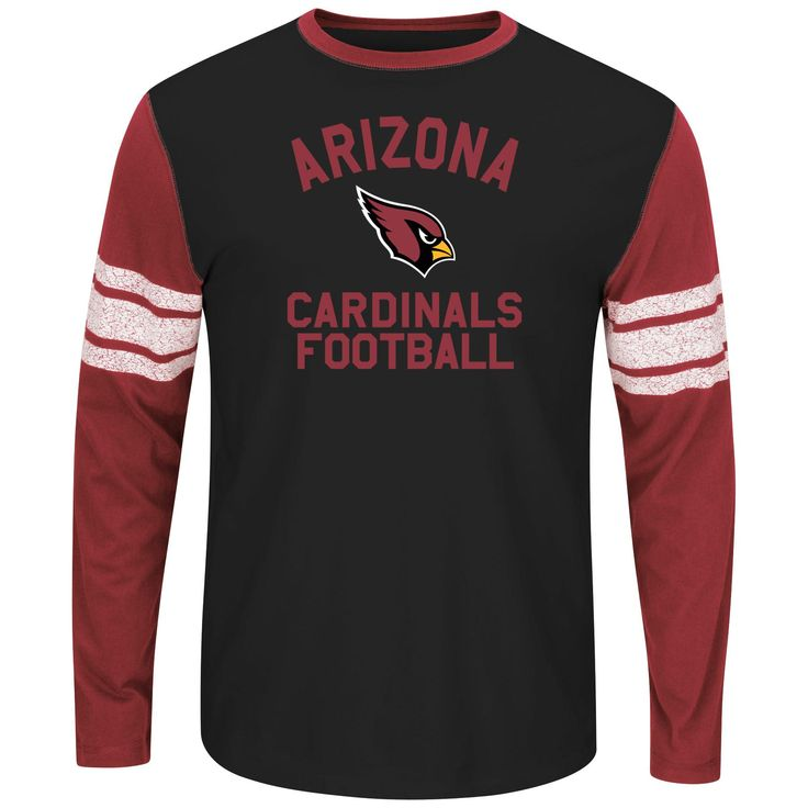 NFL Men's Big & Tall T-Shirt - Arizona Cardinals, Size: 4XL, Black