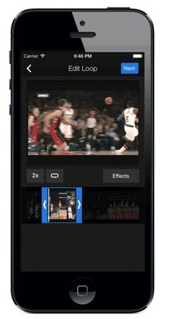 Yahoo Sports for iOS adds Loops for capturing clutch catches, epic fails