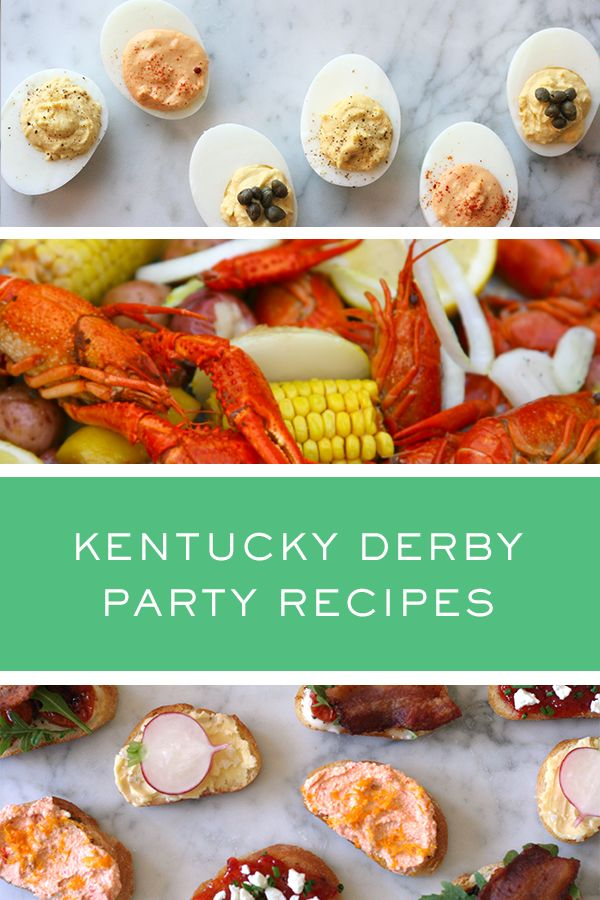 Kentucky Derby Party Recipes via @PureWow