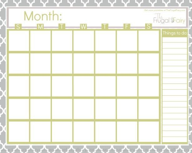 Best 25+ Free blank calendar ideas on Pinterest Blank monthly - blank calendar template