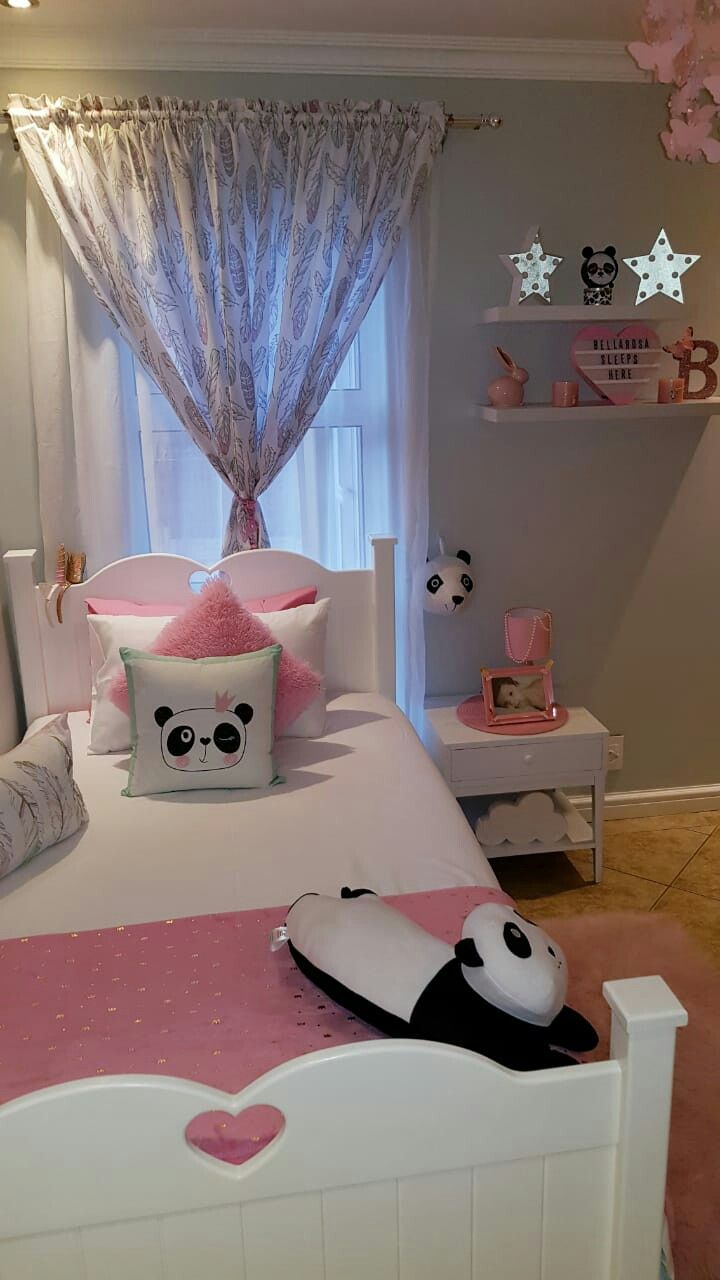 Bellas Panda Bedroom 🐼🐼🐼  Decoración dormitorio niña