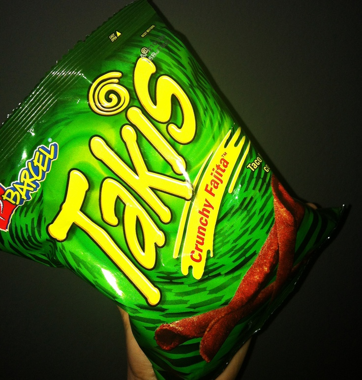 Goin' for green tonight!! TeamCrunchyFajita Takis snacks