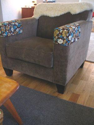Couch Arm Cover Crochet Pattern CoversChair