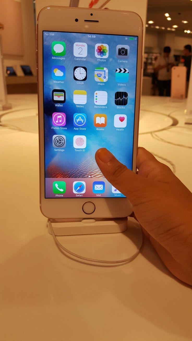 Iphone 6s Plus Rose Gold My Fav Iphone Apple Smartphone Apple Phone Case