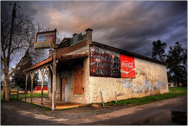 Abandoned country store in California.