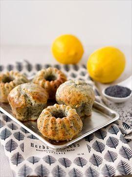 Zobrazit detail - Recept - Citronovo - makové muffiny s tvarohem a jogurtem