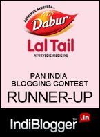 Runner up at Dabur Lal Tail contest won vouchers worth 1000