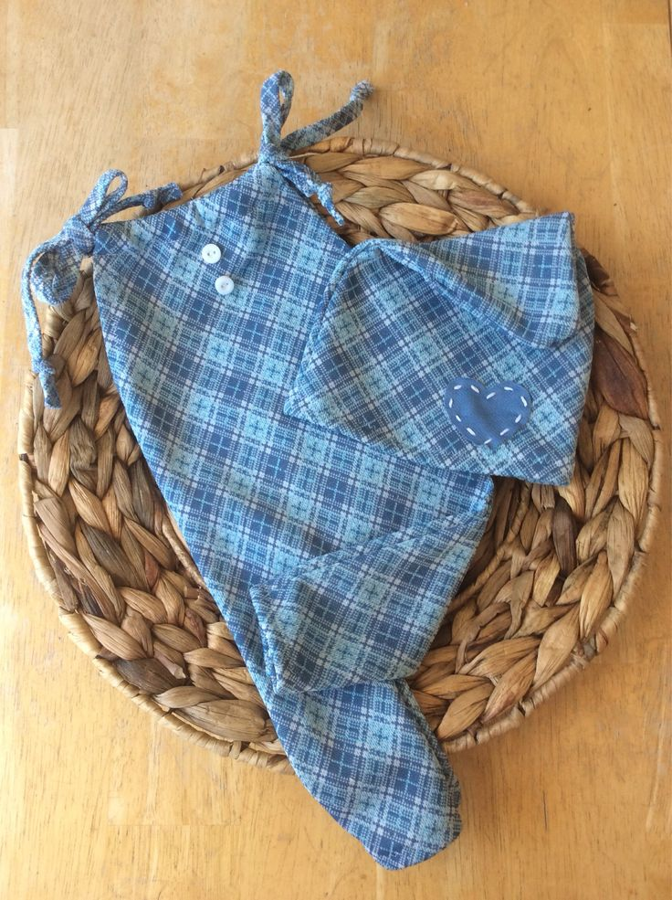 A personal favorite from my Etsy shop https://www.etsy.com/ca/listing/553856139/newborn-baby-blue-plaid-knit-romper