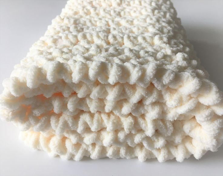 Beige Baby Blanket, Crochet Baby Blanket, Ivory Baby Blanket, Photo Prop, Car Seat Blanket, Gender Neutral, Free Shipping, Baby Shower Gift by CraftCreationsbyRose on Etsy