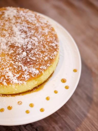 Flan onctueux à la noix de coco - Recette de cuisine Marmiton : une recette