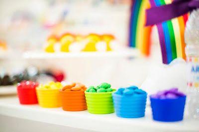 Festa arco-íris   Macetes de Mãe