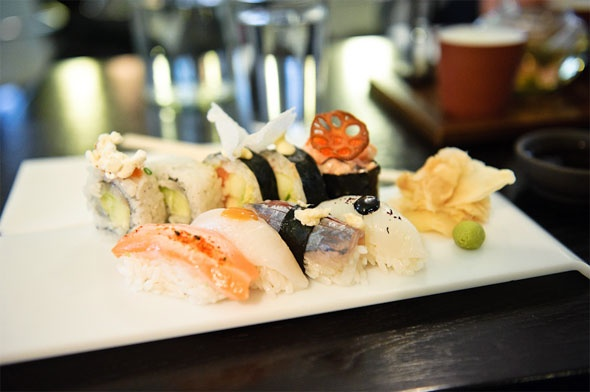 Sushi at Råkultur in Stockholm: Mats Japanese Food, Japansk Mats Japanese, Mats Japan Food, Matställen Stockholm