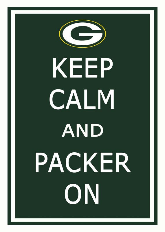 Go Green Bay Packers ! Love my green and gold! Always have always will!
