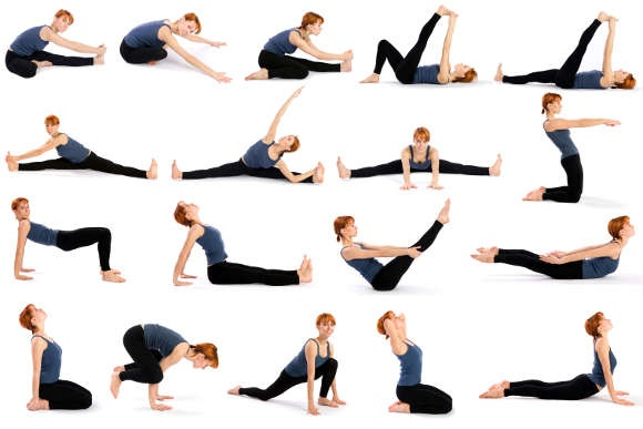 Some important yoga positions
