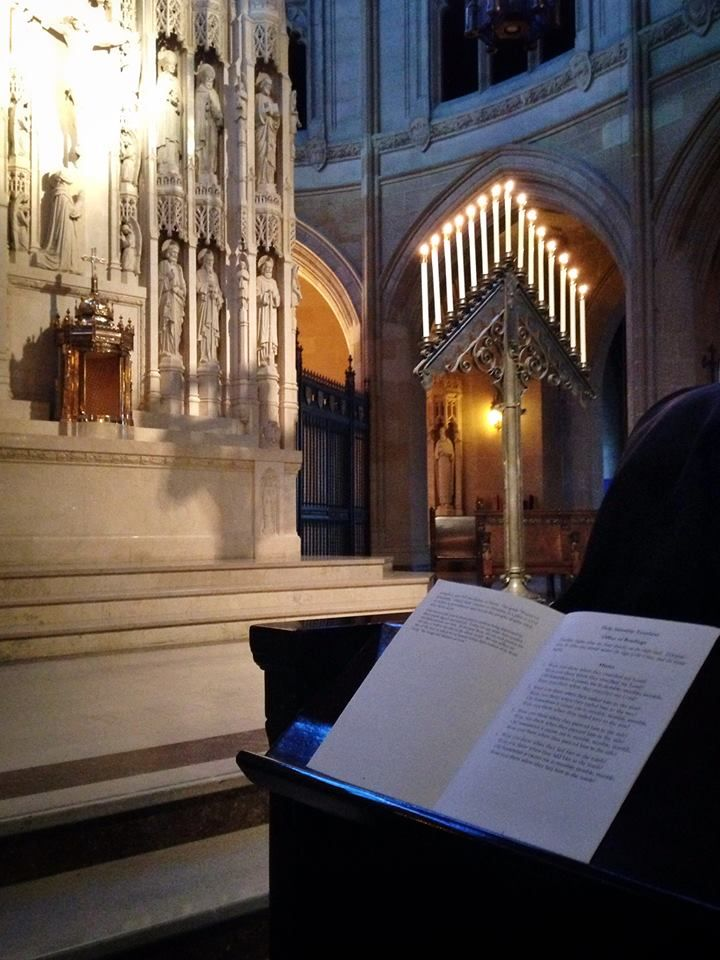 Western Dominican Vocations Tenebrae on Holy Saturday at our Western Dominican Novitiate At St. Dominic's Catholic Church, San Francisco.