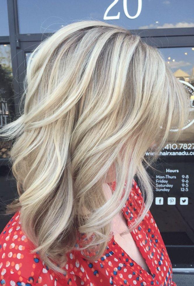 Pretty blonde tresses! Follow Livingly's boards for trending hairstyle ideas. https://www.pinterest.com/follow/stylebistro/