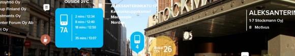 una ciudad que vive ahora en la web.... URBANFLOW.. un proyecto para helsinki... la ciudad 2.0  y 3.0